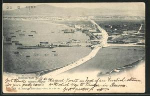 AK Gibraltar, North Front aus der Vogelschau