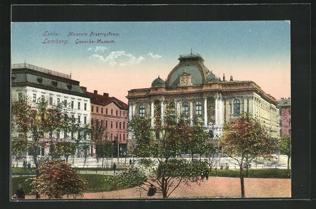 AK Lemberg / Lwow, Gewerbe-Museum, Muzeum Przemystowe 0