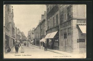 AK Langres, La rue Diderot