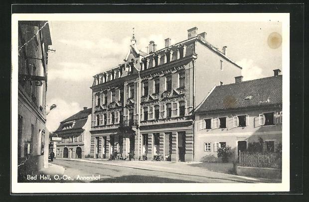 AK Bad Hall, Blick auf den Annenhof 0