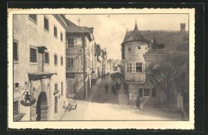 AK Steyr, Partie am Grünmarkt