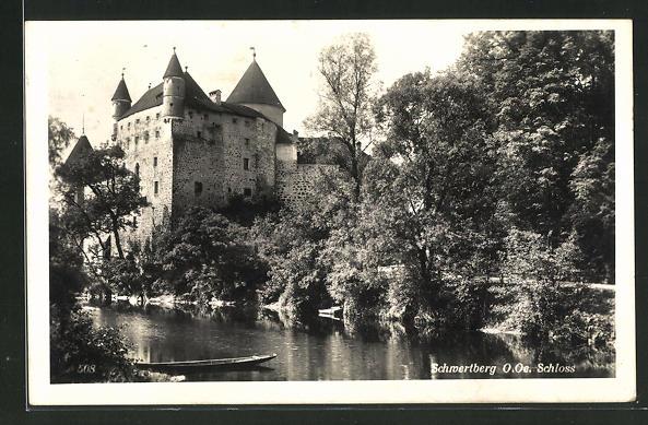 AK Schwertberg, Schloss mit Fluss 0