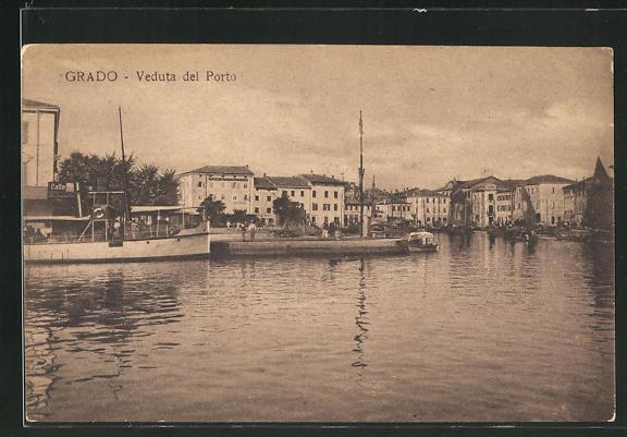 AK Grado, Veduta del Porto 0