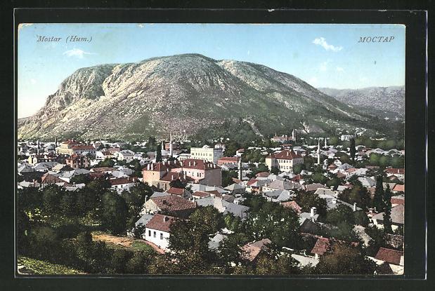 AK Mostar, Totalansicht 0