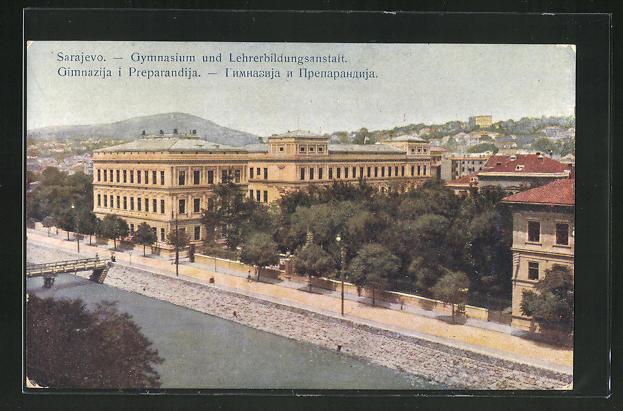 AK Sarajewo, Gymnasium und Lehrerbildungsanstalt 0