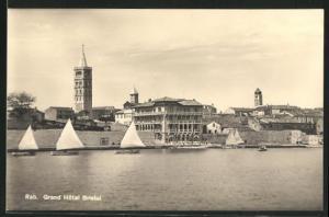 AK Rab, Grand Hôtel Bristol und Segelboote