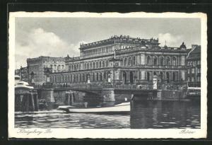 AK Königsberg, Motiv der Börse