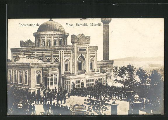 AK Constantinople / Istanbul, Mosq, Hamidiè, Sèlamlik, Moschee 0