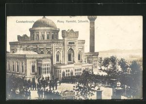 AK Constantinople / Istanbul, Mosq, Hamidiè, Sèlamlik, Moschee