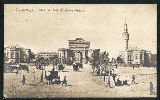 AK Constantinople / Istanbul, Entrée et Tour du Seras Kierat 0