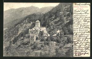 AK Mauls, Ansicht von Schloss Welfenstein