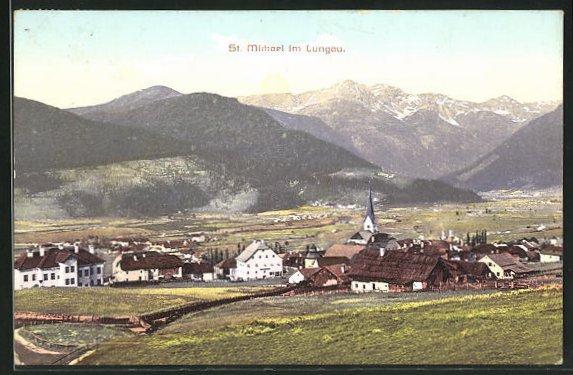 AK St. Michael im Lungau, Totale des Ortes 0