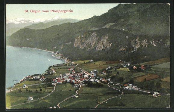 AK St. Gilgen, gesehen vom Plombergstein 0
