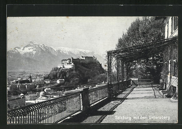 AK Salzburg, Partie gegen den Untersberg 0