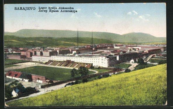 AK Sarajewo, Logor Kralja Aleksandra, Panorama 0