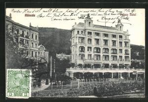 AK Abbazia, Ansicht vom Palace Hotel