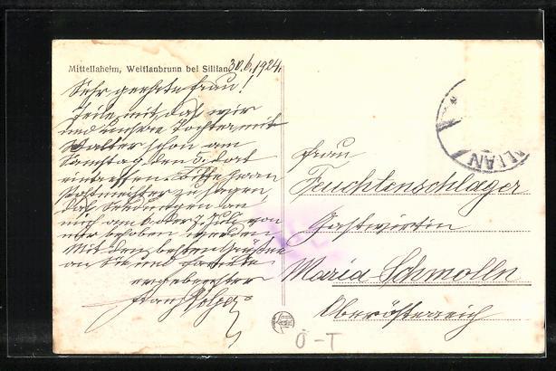 AK Mittellaheim, Weitlanbrunn bei Sillian 1