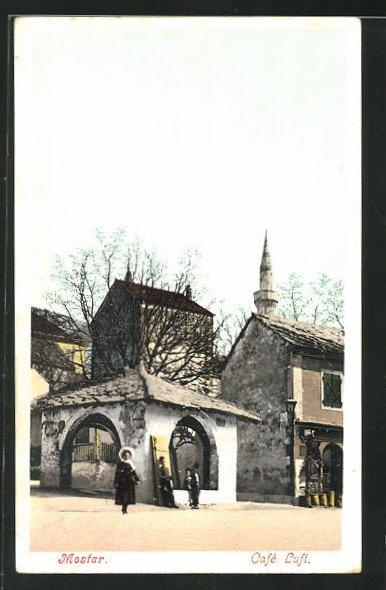 AK Mostar, Café Luft, Ortspartie 0
