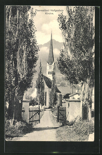 AK Hofgastein / Thermalbad, Kirche 0