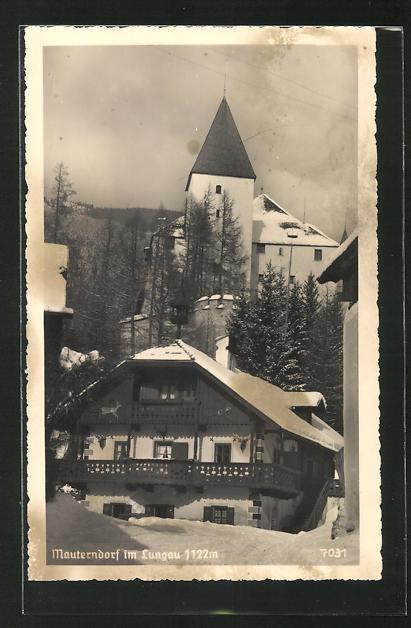 AK Mauterndorf im Lungau, Ortspartie 0