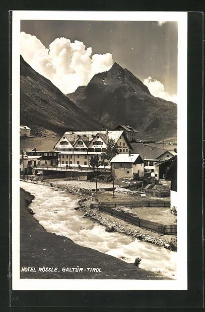 AK Galtür, Blick zum Hotel Rössle 0