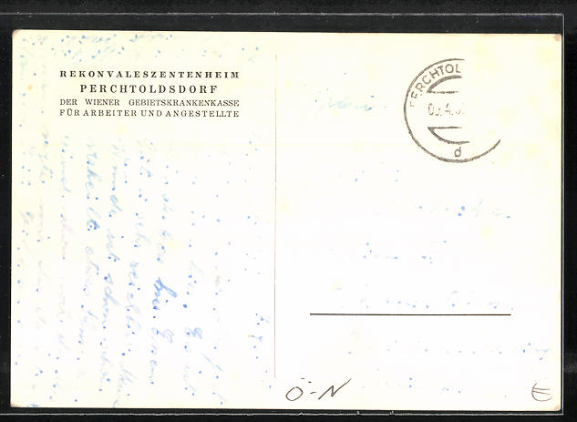 AK Perchtoldsdorf, Rekonvaleszentenheim der Wiener Gebietskrankenkasse für Arbeiter und Angestellte 1