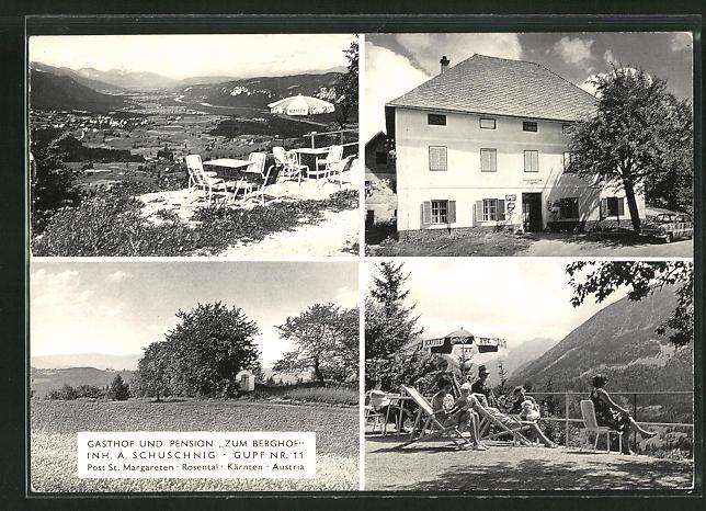 AK St. Margareten, Gasthof und Pension Zum Berghof, Gupf Nr. 11 0