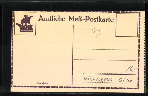 AK Königsberg, Handelshof 1