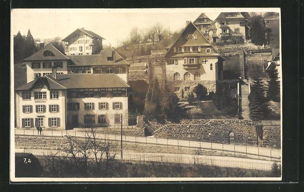 Foto-AK Feldkirch, ev. Pfarrhaus Xaveriushaus 0