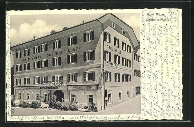 AK Bad Hofgastein, Hotel Moser Zum Goldenen Adler 0