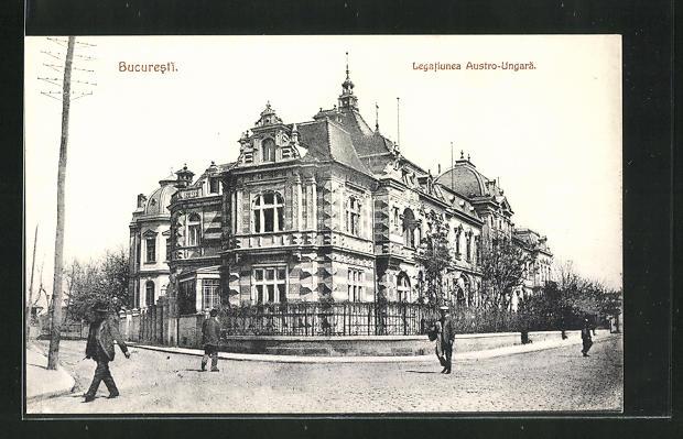 AK Bucaresti, Legatjunea Austro-Ungaria, Österr.-Ung. Botschaft 0