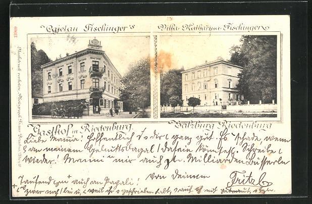 AK Salzburg-Riedenburg, Gasthof Riedenburg & Villa Katharina Fischinger 0