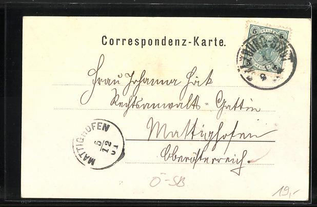 AK Salzburg-Riedenburg, Gasthof Riedenburg & Villa Katharina Fischinger 1