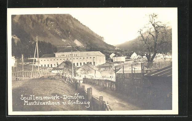 AK Danöfen, Spullersee-Werk, Siedlung & Maschinenhaus 0