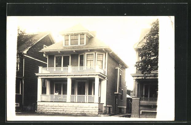 Foto-AK Buffalo, NY, 51 Norway Park, Residence Dr. & Mrs. Ruppert 0