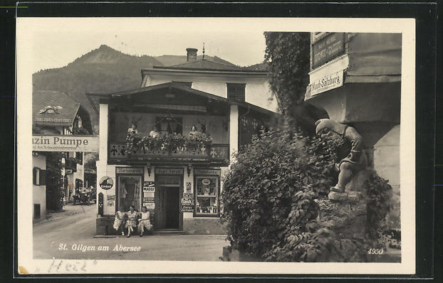 AK St. Gilgen am Abersee, Wirkwaren-Manufaktur Karl Ferstl 0