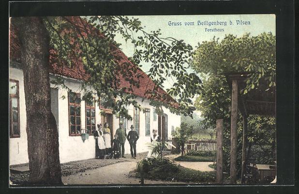 AK Vilsen, Gasthaus und Forsthaus zum Heiligenberg 0
