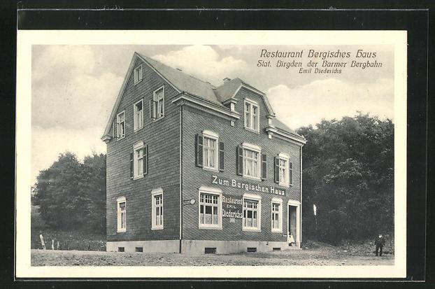 AK Birgden, Restaurant Bergisches Haus von Emil Diederichs 0