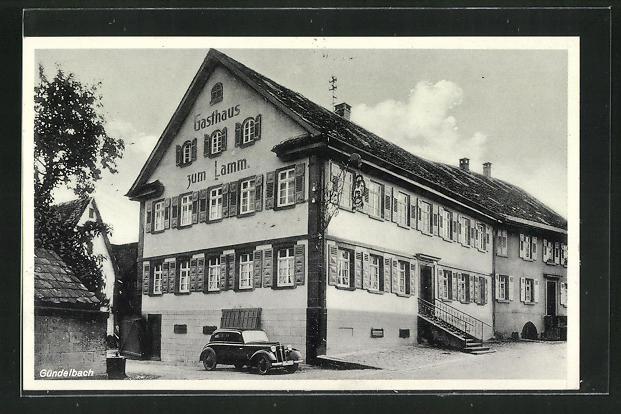 AK Gündelbach, Gasthaus zum Lamm 0