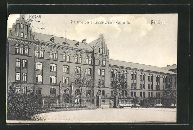 AK Potsdam, Kaserne des I. Garde Ulanen Regiments 0