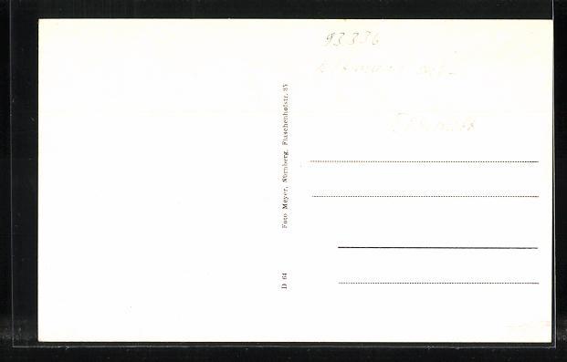 AK Mendorf / Opf., Gasthaus von M. Amberger, Gasthof von Adam Betz, Gemischtwarengeschäft von Alfred Vogg 1