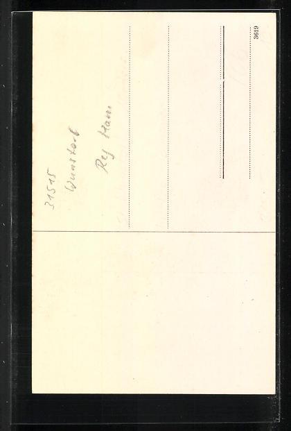 AK Idensen, Gasthaus Heinrich Matthias, Saal 1