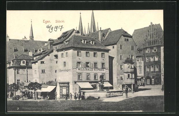 AK Eger, Gasthaus Stöckl 0