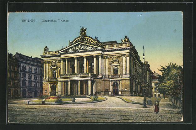AK Brünn, Deutsches Theater 0