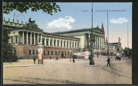 AK Wien, Nationalratsgebäude 0