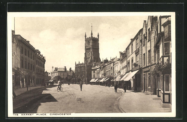 AK Cirencester, The Market Place 0