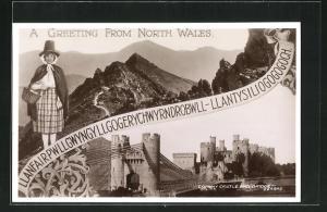 AK North Wales, Conway Castle and Bridge