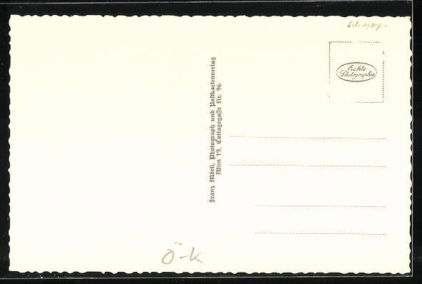 AK Mallnitz, Ortsansicht mit hohe Tauern 1