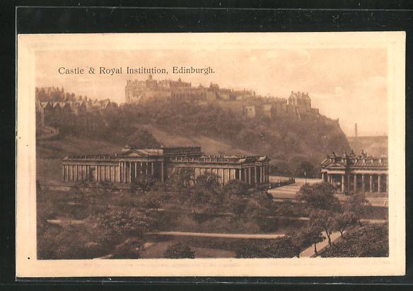 AK Edinburgh, Castle and Royal Institution 0