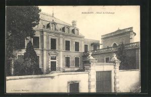AK Marcigny, Hotel de Chalonge